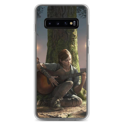 Image of Ellie Playing Guitar TLOU 2 Samsung Case [The Last of Us]