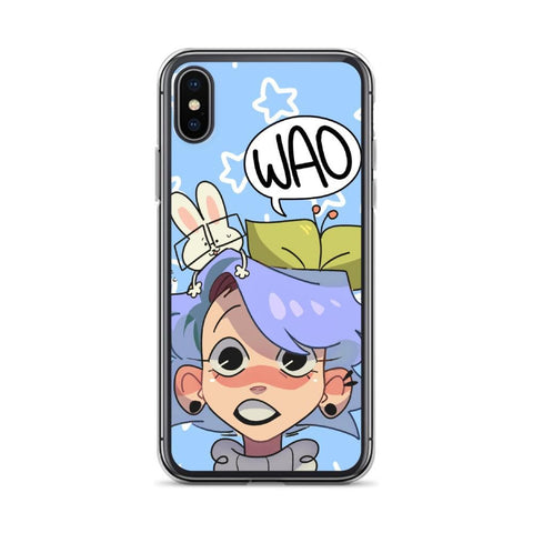 Image of Cherri's Face iPhone Case (Blue)