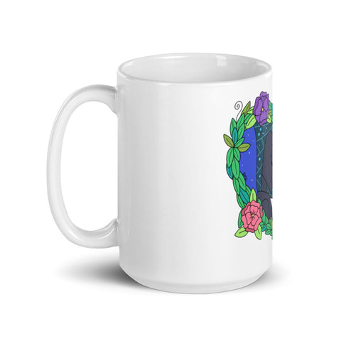 Image of Spider and Butterfly Coffee Mug