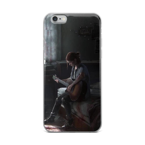 Image of Ellie Being Alone TLOU 2 iPhone Case