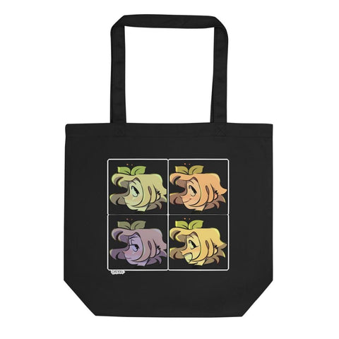 Cherri Color Face Eco Tote Bag