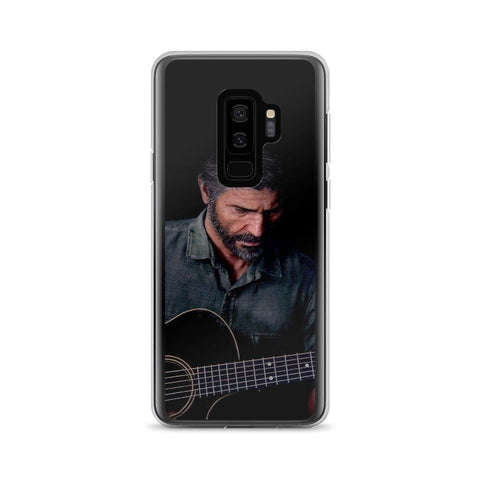 Image of Joel Playing Guitar TLOU 2 Samsung Case [The Last of Us Part 2]