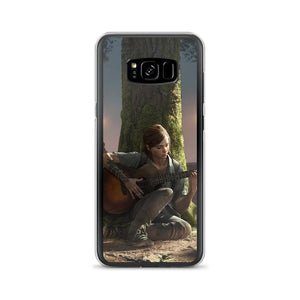Ellie Playing Guitar TLOU 2 Samsung Case [The Last of Us Part 2]