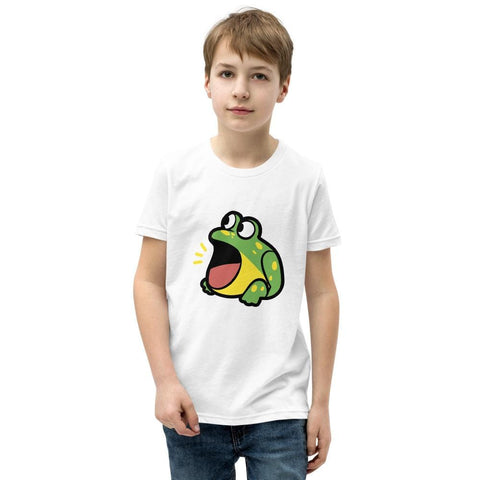 Image of Frog Youth T-Shirt (White, Grey, Black and Navy)
