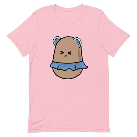 Potato Berry Unisex Color T-Shirt ( Blue, Pink, Mint, Yellow)