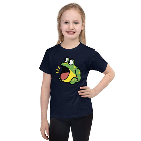 Frog Kids T-Shirt 2-6 Years (White, Black, Grey, Navy and Red)