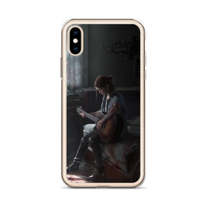 Ellie Being Alone TLOU 2 iPhone Case