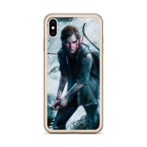 Image of Ellie with Bow TLOU 2 iPhone Case [The Last of Us Part 2]