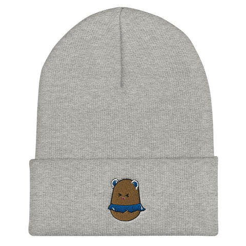 Image of Potato Berry Cuffed Beanie (White, Grey, Red, Navy, Spruce)