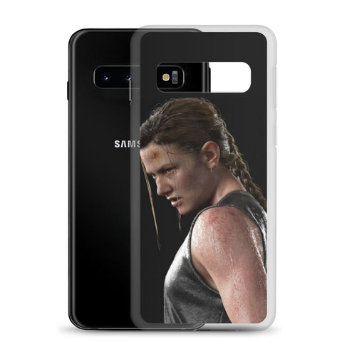 Image of Abby Fighting Mode TLOU 2 Samsung Case [The Last Of Us Part 2]