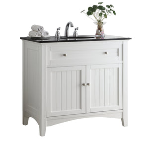"37""  Casual Style Thomasville Bathroom Sink Vanity  model # CF47531GT"