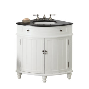 "24"" Benton Collection Thomasville Corner Shape Bathroom Sink Vanity CF-47533GT"