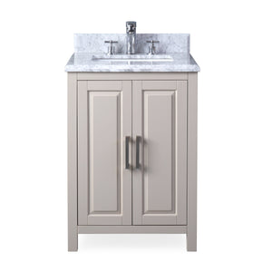"24"" Tennant Brand Fletcher Contemporary Taupe Bathroom Vanity ZK-8153A"