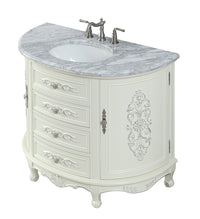 "42"" Benton Collection Verondia Vintage Style Vanilla Beige Bathroom Vanity CF-5620-42"