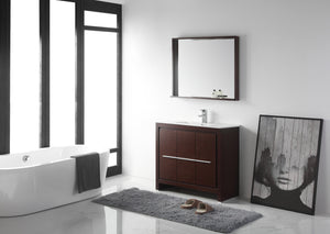 "36"" Tennant Brand Modern Style Vanity - Viara Bathroom Sink Vanity -  CL10-WE36-ZI  Espresso"