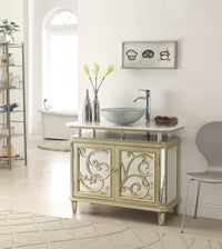 "38"" Benton Collection Idella Vessel Sink Bathroom Sink Vanity model # HFZ250 - Chans Furniture - 2"