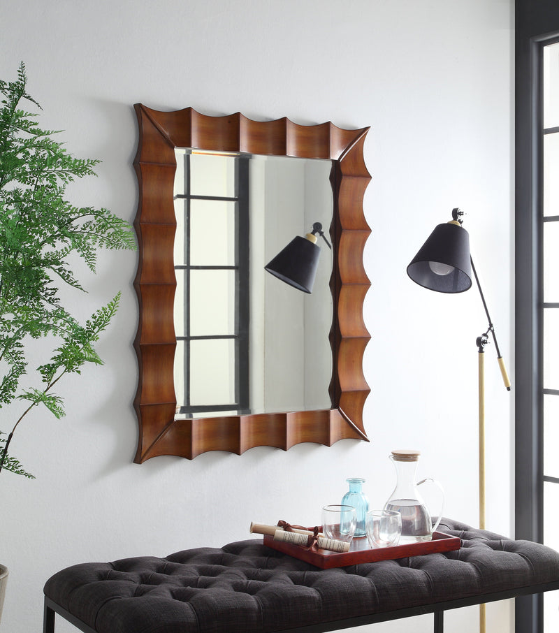 "Vigo Wood Frame Mirror 32x40""H MR-1217-3240"