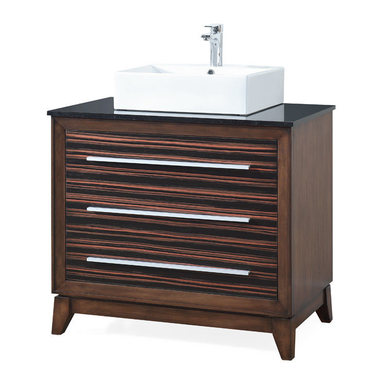 "36"" Tennant Brand Stoughton vessel Sink bathroom vanity - TB-9203-V36"