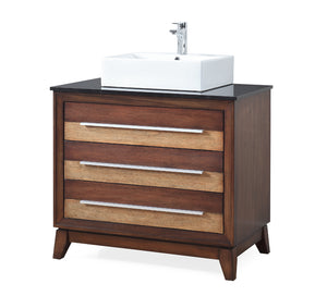 "36"" Tennant Brand Stoughton vessel Sink bathroom vanity - TB-9204-V36"