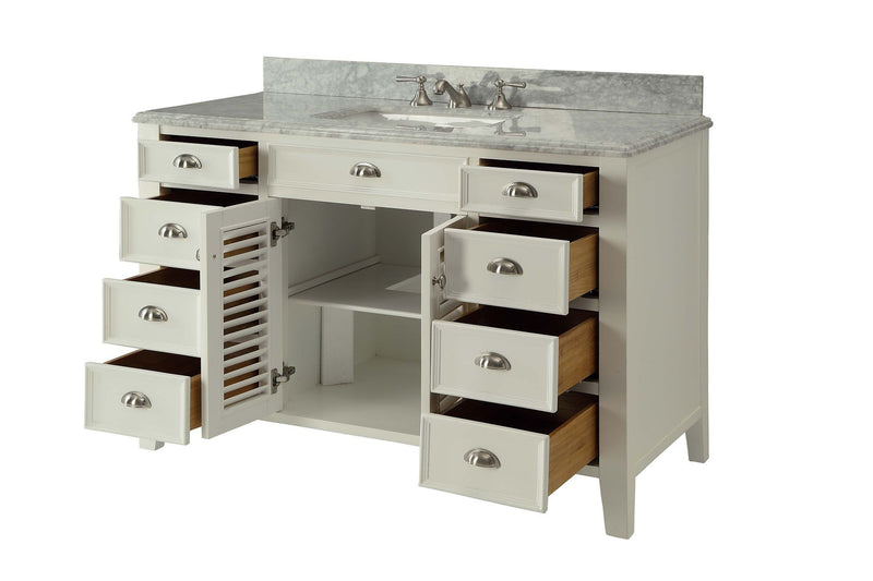 Kalani 50-inch Vanity YR3028Q50 - Chans Furniture - 3
