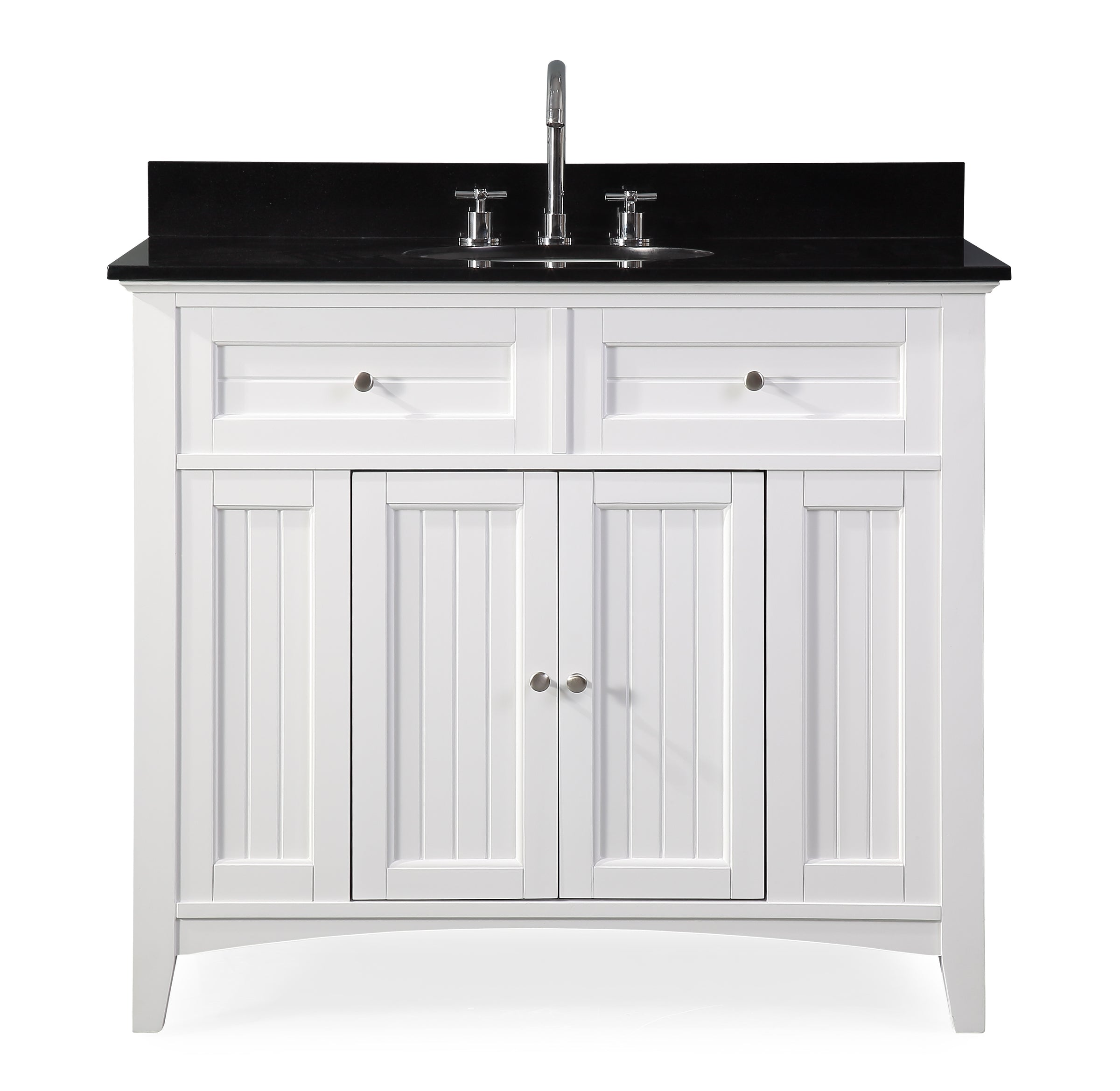 Astounding 42 Causal Style Thomasville Bathroom Sink Vanity Cabinet Home Interior And Landscaping Elinuenasavecom