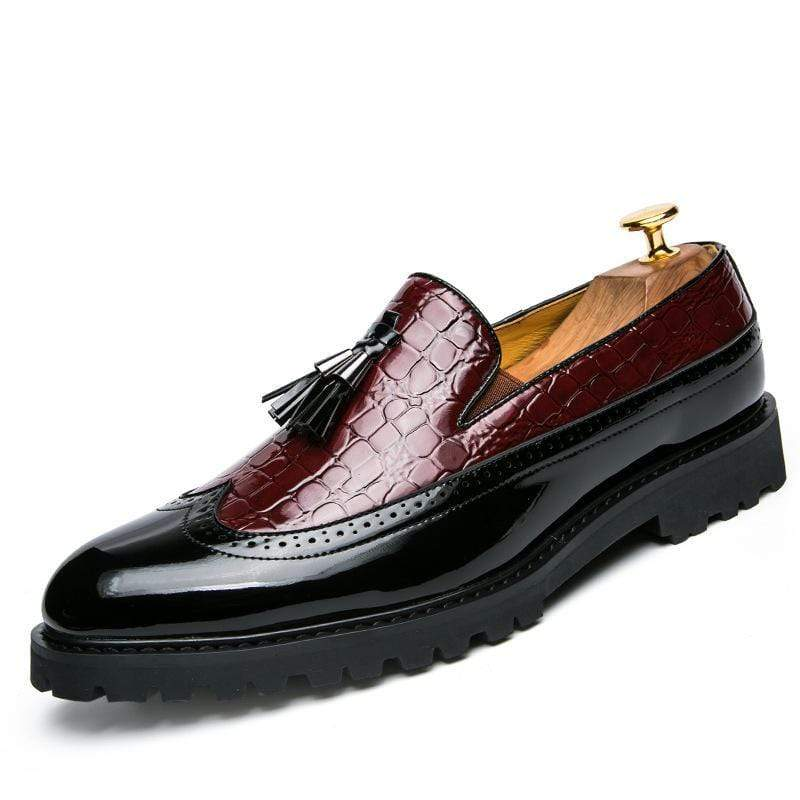Men Vintage Summer Leather Loafers