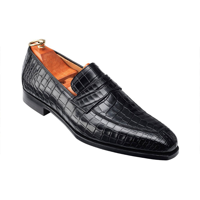 Crocodile loafers