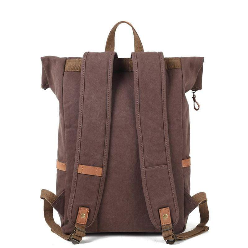 Retro Canvas Shoulder Backpack