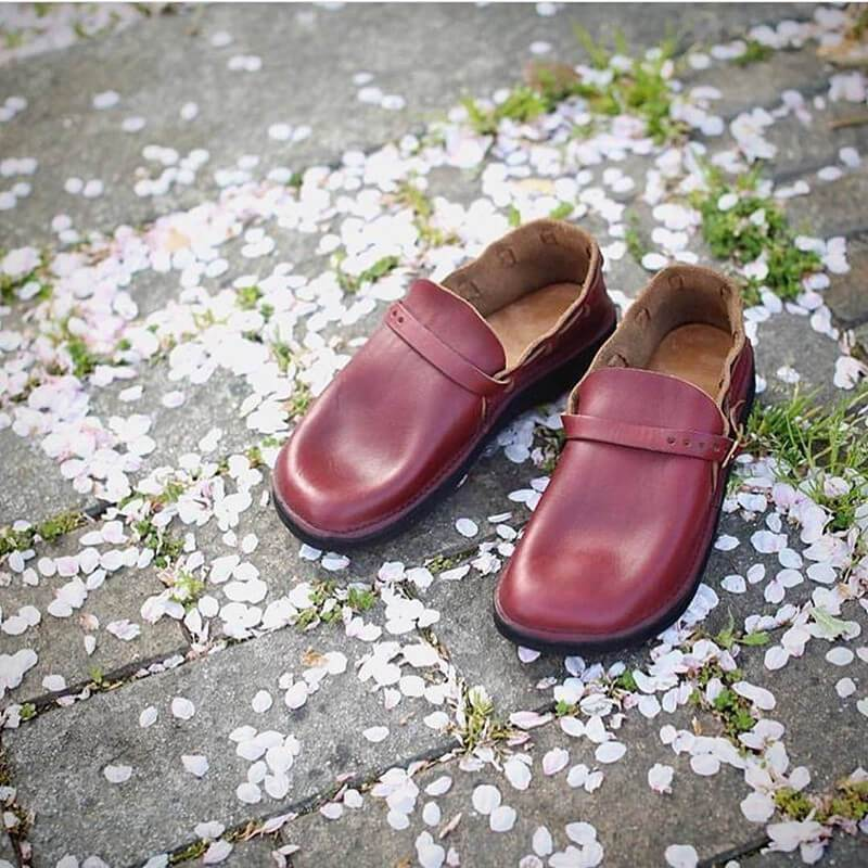 Handmade Soft Toe Casual Slip-on Shoes