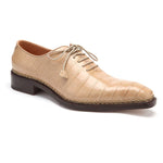 Men's Crocodile Oxford Shoes