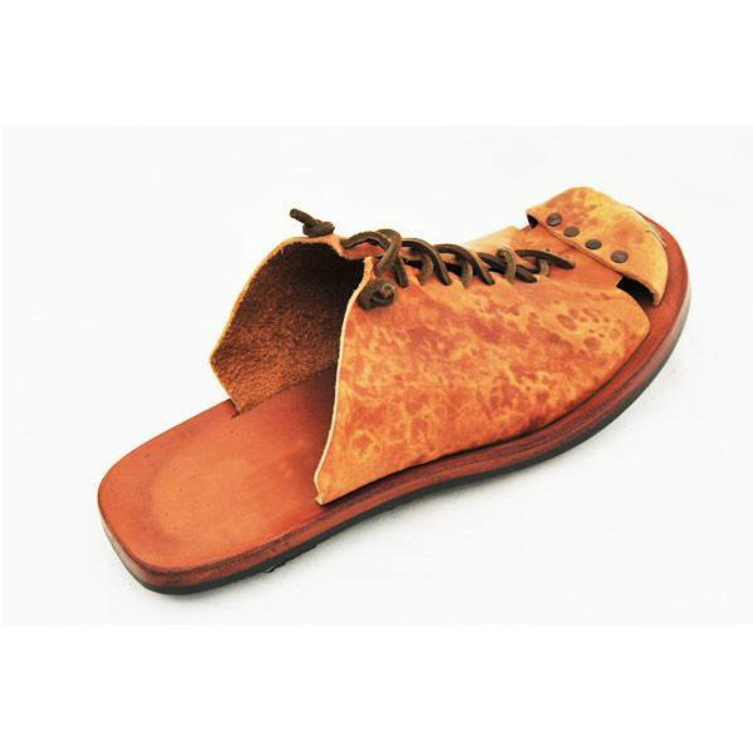 Handmade Vintage Leather Casual Slippers