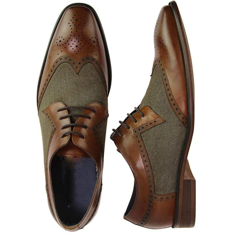 Retro Brogue Shoes