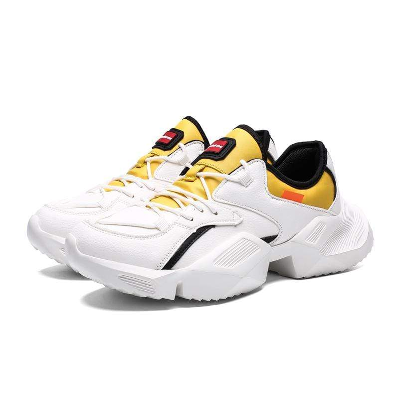 Men Retro breathable running shoes