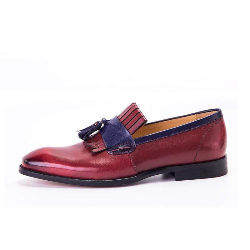 Handmade Calf Leather Tassel Loafer