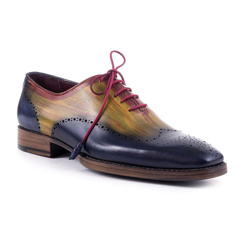 Vintage Colorful Handmade Leather Shoes