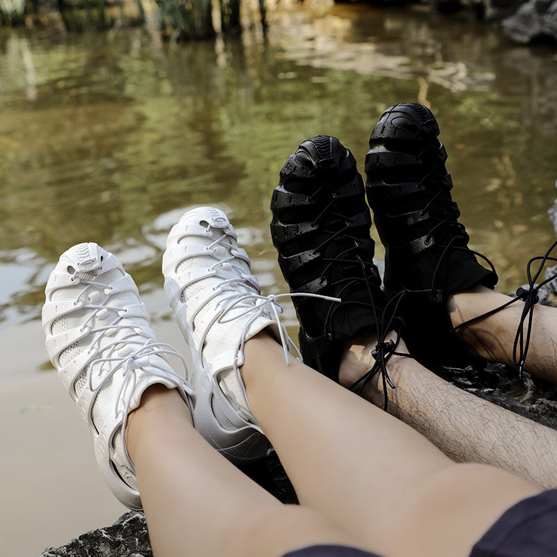 Flat bottom socks breathable outdoor river shoes