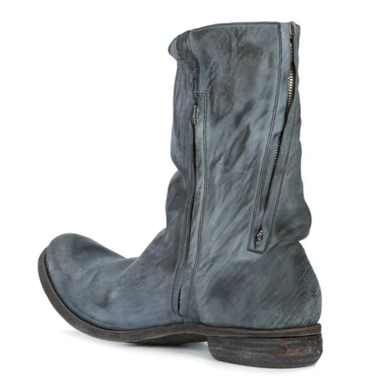 Men's Vintage Relaxed Distressed Boots