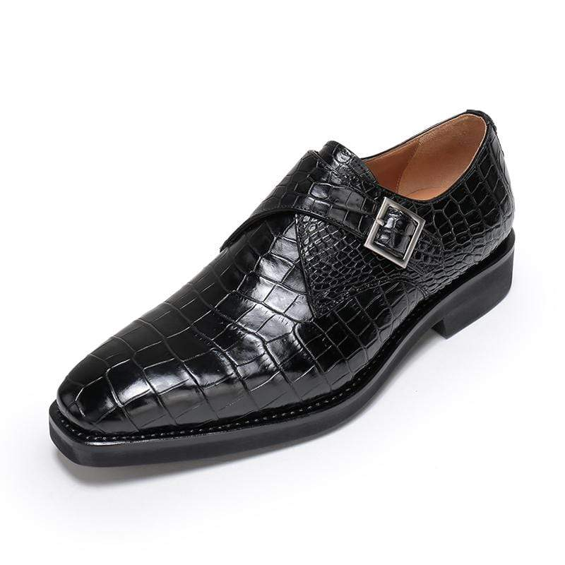 Crocodile Monk Shoes