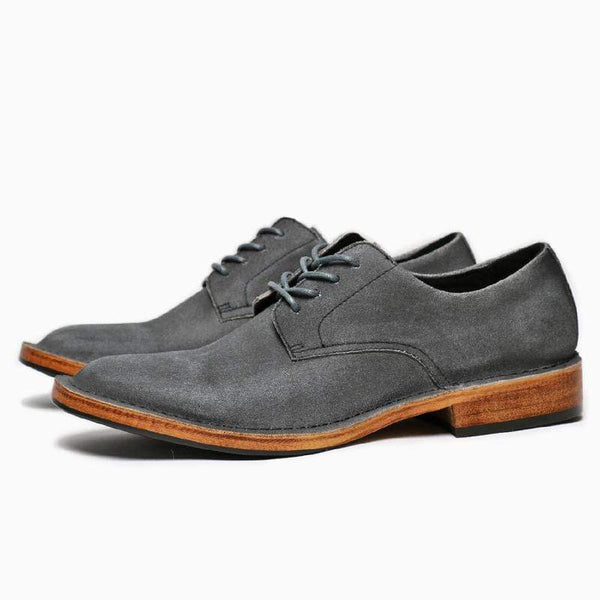 Retro British Style Men's Suede Leather Shoes