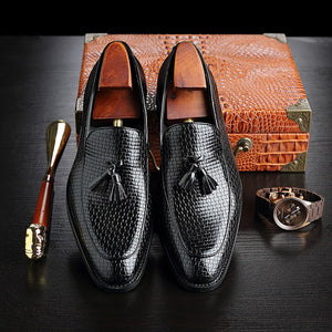 Vintage woven loafers
