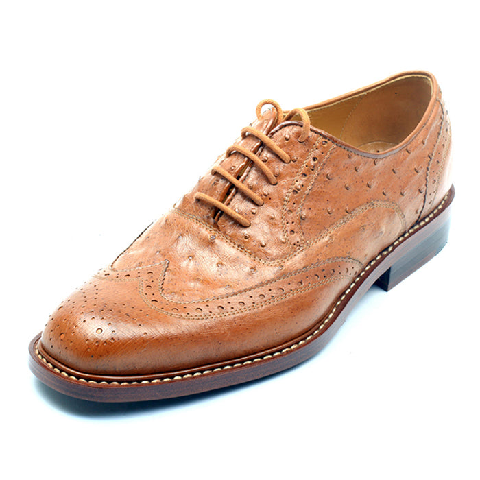 Ostrich Leather Shoes