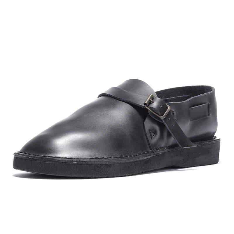 Men Casual Soft Toe Leather Shoes - mwsshoe