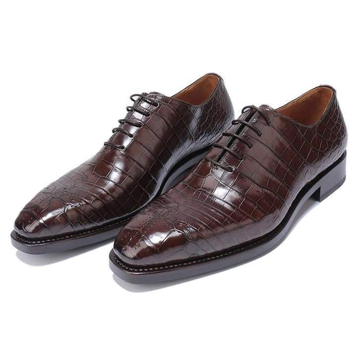 Handmade Goodyear Leather Lace Up Shoes