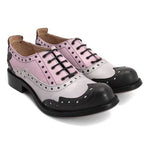Women Retro Low Heel Brogue Shoes