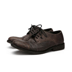 Handmade Men Vintage Leather Casual Shoes