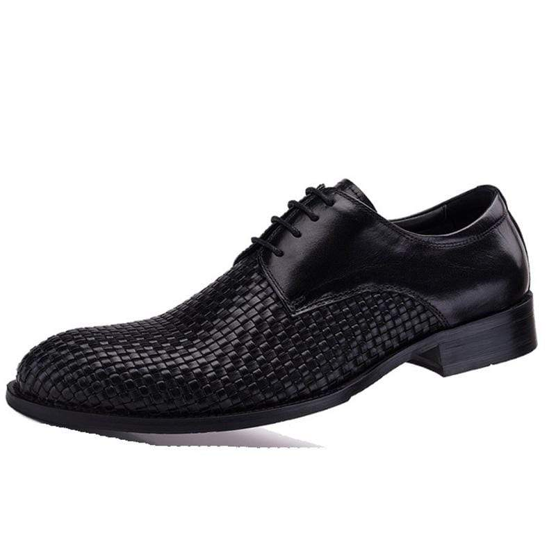 Men's Handmade Lace up Soft Leather Shoes