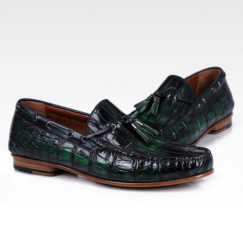 Retro Crocodile Loafer