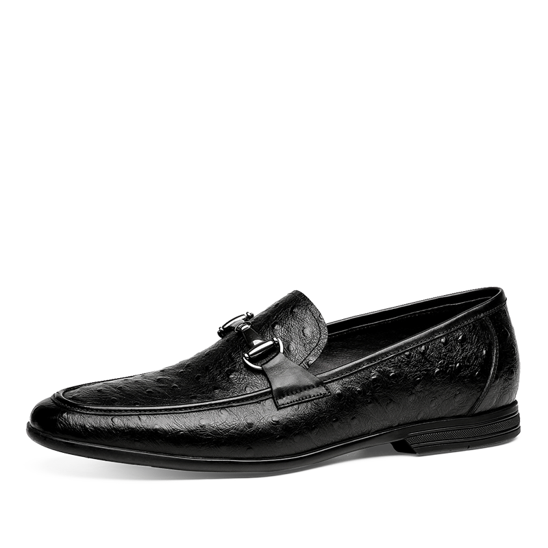 Retro Leather Loafer