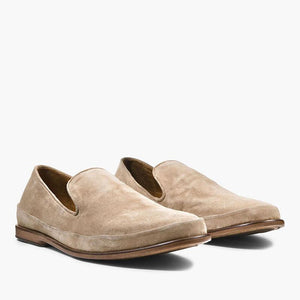 Men Handmade Suede Casual Slip-on Loafers