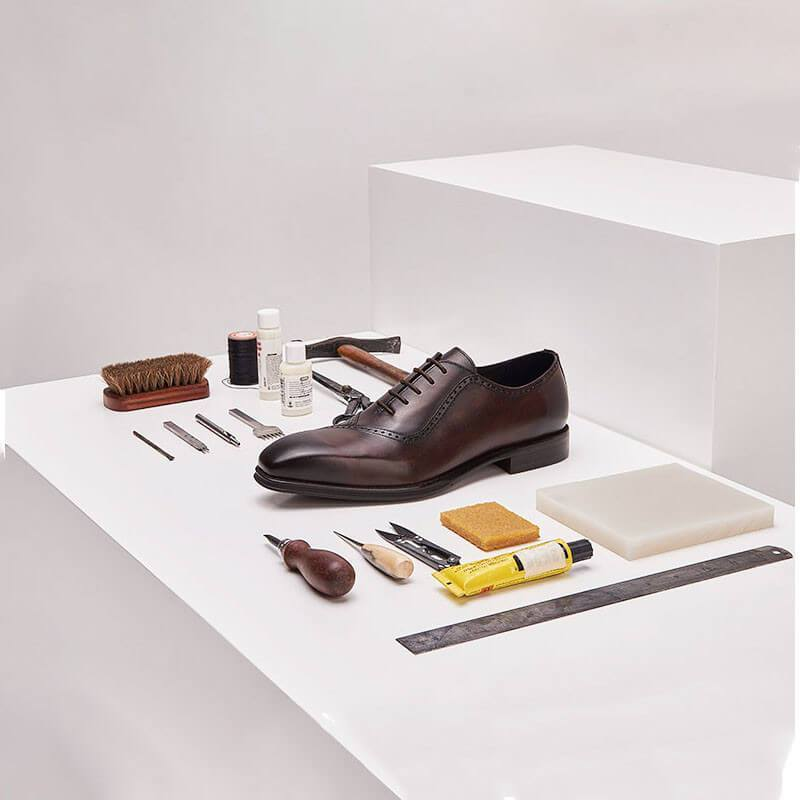 Men Handmade Business Leather Oxfords